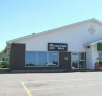 OFFICE SPACE IN AMHERST NS on a busy street (tons of parking)