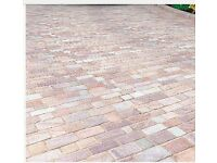 New and used block paving