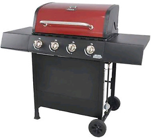 Backyard Grill 4-Burner Propane Gas Grill - Red