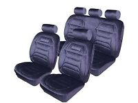 BRAND NEW, Padded foam Car seat covers, FULL SET, 5 headrests, Front/back seats, cost 79 for sale  Bradford, West Yorkshire