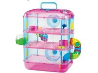 Hamster cage+ the hamster +food and bedding for £15