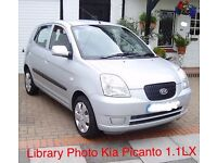 Kia Picanto 1.1 LX 5dr Supermini. Superb throughout. New MOT! Warranty Included!