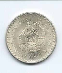 Cinco Pesos Mexico Ebay