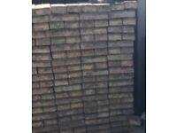 Block paving patio bricks