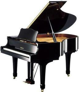 yamaha piano ebay. Black Bedroom Furniture Sets. Home Design Ideas