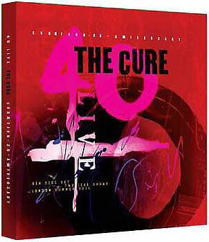 The Cure -  40 Live -  Cureation - 25  - 2DVD / 4CDS - OOP
