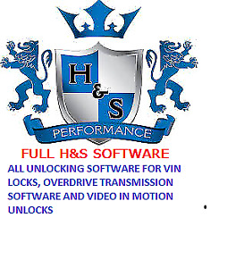 H&S XRT PRO, MINI MAXX UNLOCK SOFTWARE Code Generator