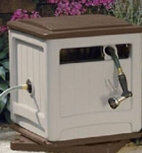 Garden hose reel and cover box $45