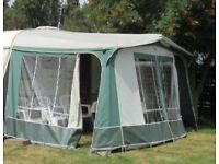 Lightweight 2 berth Elddis with full awning. Can deliver.