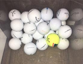 25 Grade A Callaway Warbird golf balls
