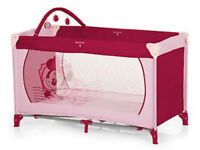 Minnie Mouse Travel Cot
