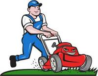 Grass cutting , spring cleanup , property maintenance