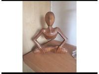 Small wooden sculpture