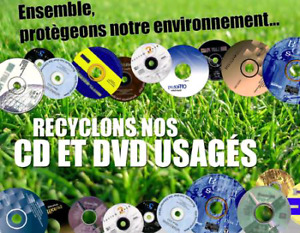 Recyclage DVD/CD