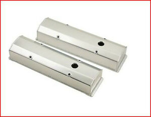 MR. Gasket - Polished Aluminum Valve Covers SBC