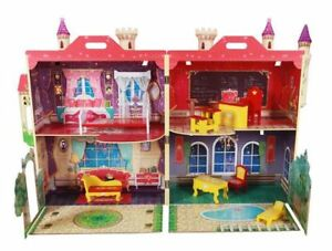 "NEW: High School Doll House ""Made of Wood"""