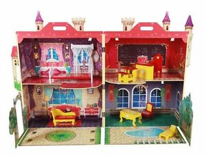 "NEW: High School Doll House ""Wooden doll house"" - $100 (NO TAX)"