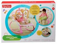 Fisher-Price Infant-To-Toddler Rocker 25$