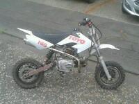 110cc pitbike. Swap or sale car scooter. 70cc plus dirtbike