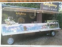 Refrigerated display trailer