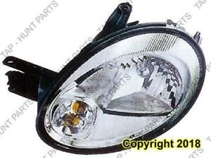Head Light Driver Side Chrome Bezel Without Leveling [From 5/12/2003 To 2005] High Quality Dodge Neon
