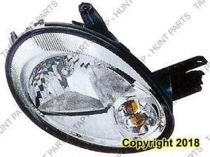 Head Light Passenger Side Chrome Bezel Without Leveling 5/12/03-05 High Quality Dodge Neon 2003-2005