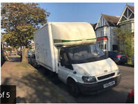 Ford Luton Van with Tail Gate