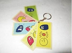 Vintage Pac-Man Keychain with Pac--Man chasing the Ghosts