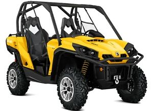 Can-am Commander 1000 XT Side by Side