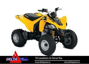 New 2017 Can-am DS 250 ATV