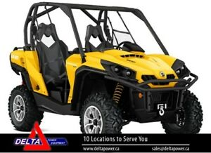 New 2017 Can-am Commander XT 800R EFI Side-By-Side