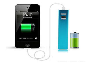 ~~~~ PORTABLE USB BATTERY PACK POWER BANK CHARGER - NEW ~~~~