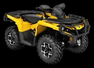 Can am Outlander 650 XT ATV