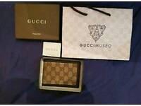 100% genuine Mens Gucci wallet
