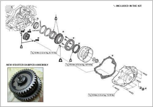 Can Am Spyder Wiring Diagram together with B01497QCFG in addition Xvs1100 Starter moreover  on v star 1100 starter clutch