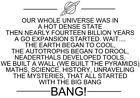 Big Bang Theory Transfer