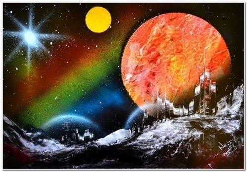 Space painting ebay - Painting small spaces image ...