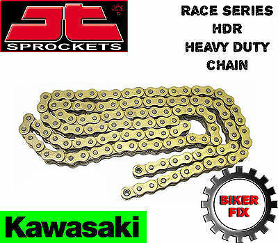 Kawasaki GPZ500 S (EX500D1-D12) 94-05 GOLD Heavy Duty Chain HDR Race