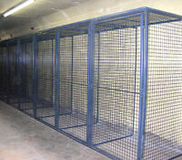 WIRE MESH LOCKERS FOR COMMERCIAL AND RESIDENTIAL