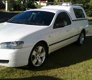 2004 BA Ford Falcon Ute LPG