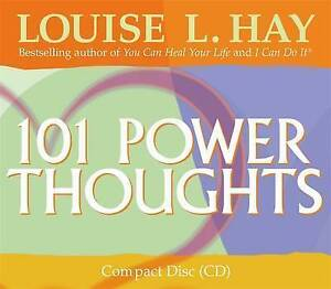 101 Power Thoughts by Louise L. Hay (CD-Audio, 2004)