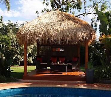 Bali Huts, Gazebos and timber decking DIY or Installed