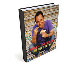 Made in Italy - David Rocco (cookbook) reg $39.99 plus tax