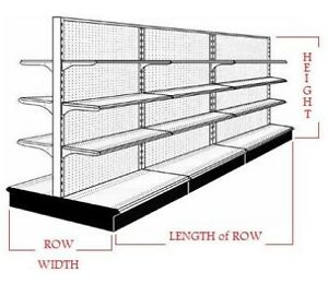 Just like new SHELVING AND GONDOLAS FOR SALE