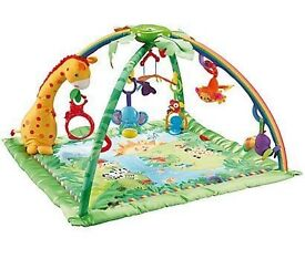 Fisher Price Rainforest™ Melodies and Lights Deluxe Gym™