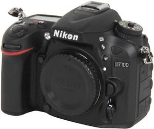 NIKON D7100 BODY ONLY PERFECT CONDITION