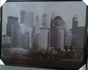 NEW J.P. London Canvas Wall Mural New York City Skyline Sepia