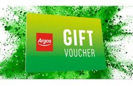 Argos voucher deal value £109