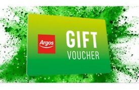 £1200 Argos store voucher for sale for £1100.