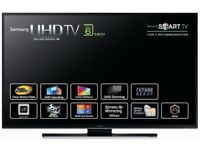 "Samsung 50"" UHD 4K Freeview HD, Freesat HD, Smart TV"
